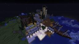 1.13.2 Survival Spawn + Arena + Bazaar + Event Area + Harbor + Dock | Provanas Survival Vadi Minecraft Map & Project