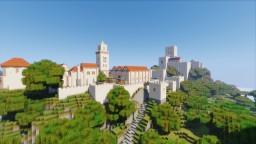 Moorish Town and Alcazaba Minecraft Map & Project