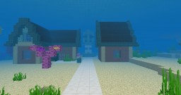 Aquaria - The City that dove into the sea Minecraft Map & Project
