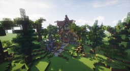 Small spring plot Minecraft Map & Project
