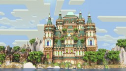 Green Roof Palace [schem download] Minecraft Map & Project