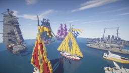 Ships Minecraft Map & Project
