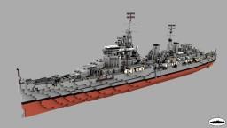 HMS Edinburgh 1:1 Scale Minecraft Map & Project