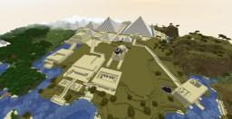 Idgypt - Giza and Saqqara Necropolis Minecraft Map & Project