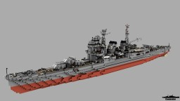 IJN Myoko 1:1 Scale Minecraft Map & Project
