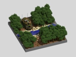 Armoured Personnel Carrier Minecraft Map & Project
