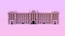 Buckingham Palace (not original faithful) | Front facade Minecraft Map & Project
