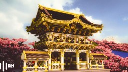 Nikko Toshogu Shrine, Kotohira-gu Shrine and more East Asian architectures Minecraft Map & Project