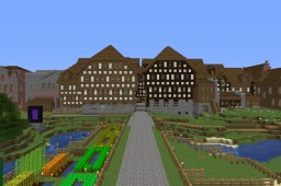 Town of Midland Glade Minecraft Map & Project