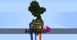 SkyTrade - A Custom SkyShop with VIllagers! (Spawners, Farms and Emerald Coins) Minecraft Map & Project