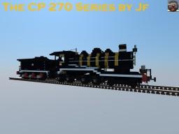 The Forgotten CP 270 Series Steam Locomotive Minecraft Map & Project
