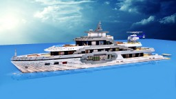 Superyacht Wave [full interior + download] Minecraft Map & Project