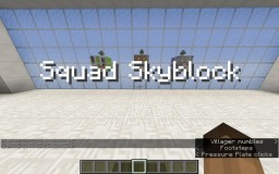 The Squad Skyblock Minecraft Map & Project