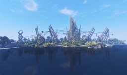 A Fantastic Futuristic Park (Download) Minecraft Map & Project