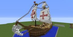 La Santa María Minecraft Map & Project