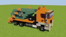 Swing Arm Garbage Truck Minecraft Map & Project