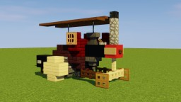 Steam Tractor Minecraft Map & Project