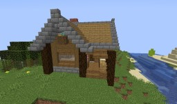 Medium Sized Traditional House Minecraft Map & Project