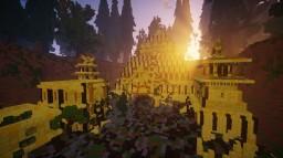 Onepiece - Skypiea + Golden city ! :D Minecraft Map & Project