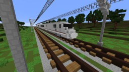 ICExperimental  1.5:1 scale realistic train Minecraft Map & Project