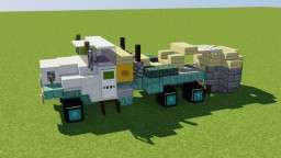 Tree Spade Truck Minecraft Map & Project
