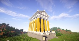 Temple of Ceres Minecraft Map & Project
