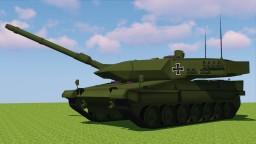 [1.7.10] MCHeli German Leopard 2A6 Main Battle Tank Minecraft Mod