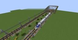 Underground train station Minecraft Map & Project