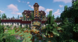 Addams Family Mansion (1991) Minecraft Map & Project