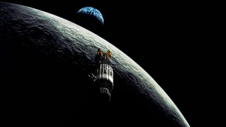 Background from movie Apollo 13