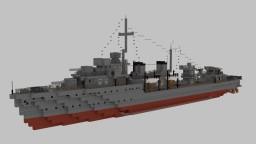 Yugoslavian Destroyer Beograd Minecraft Map & Project
