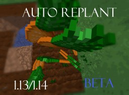 [DataPack] Auto Replant 1.13/1.16 Minecraft Data Pack