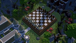 Chess game Minecraft Map & Project