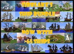sirBlake Ship Bundle - NOW >65 SHIPS ! Minecraft Map & Project