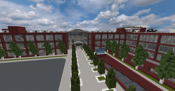 GreySloan Memorial Hospital Back Entrance