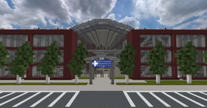 GreySloan Memorial Hospital Front Entrance