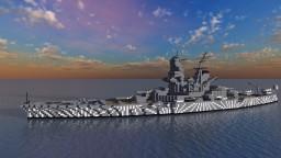 Hiraga's Kongo Replacement Battleship Minecraft Map & Project