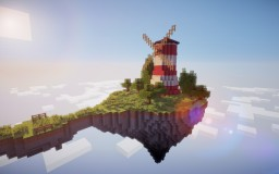 flying windmill Minecraft Map & Project