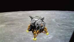 Apollo Lunar landing (LM) Minecraft Map & Project
