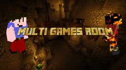 Multi games Room Minecraft Map & Project