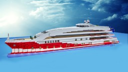 "SuperYacht  ""Ruby"" Minecraft Map & Project"