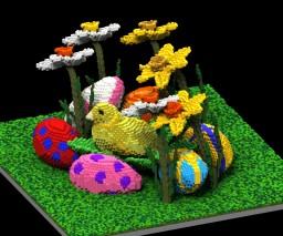 Chickie Little - Spring chicken Minecraft Map & Project