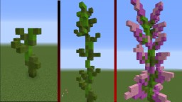 Blooming Lilac - 3D Animations for 1.13+ Minecraft Map & Project