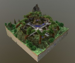 Survival Spawn + Free download Minecraft Map & Project