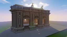 Train station (old project removed) Minecraft Map & Project