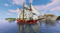 Atyla tall ship Minecraft Map & Project