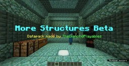 More Structures Datapack! (1.13-1.13.2) Minecraft Data Pack