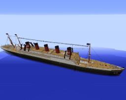 RMS Laurentix Minecraft Map & Project