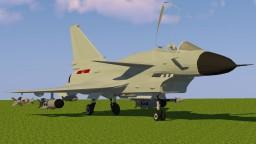 [1.7.10] MCHeli Chengdu J-10 Chinese Fighter Jet Content Pack Minecraft Mod