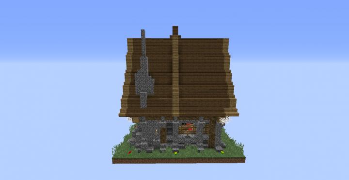 Maison Médiévale Minecraft Map